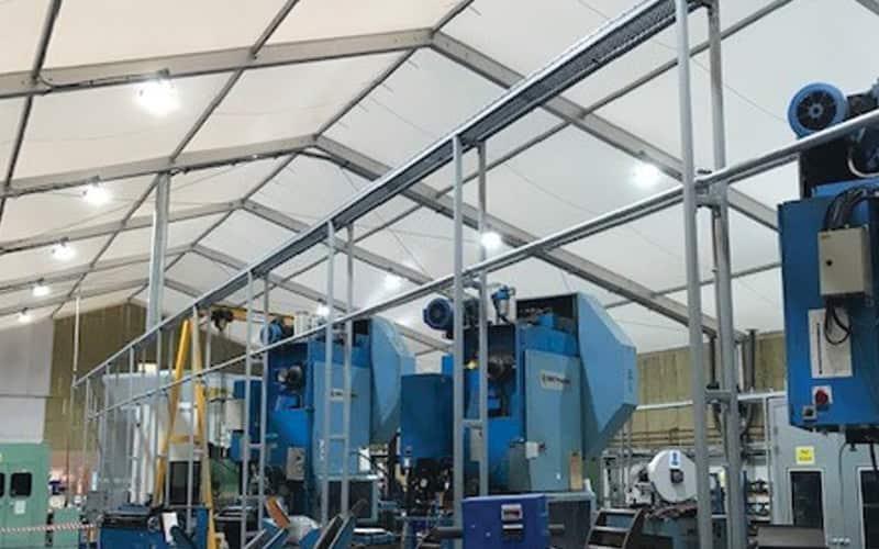 production line warehousing solution