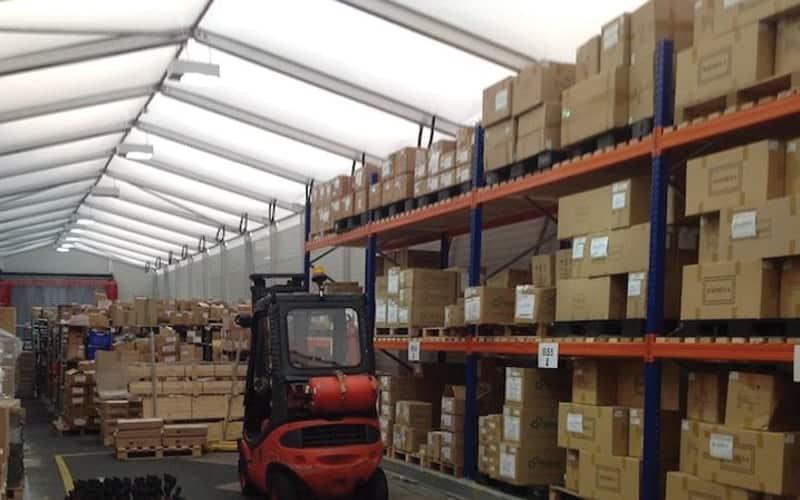 warehousing storage for pallets