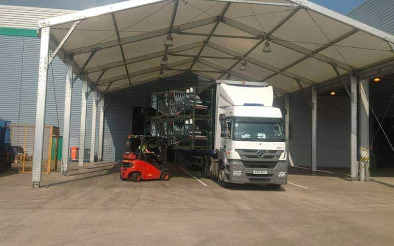 loading under canopy