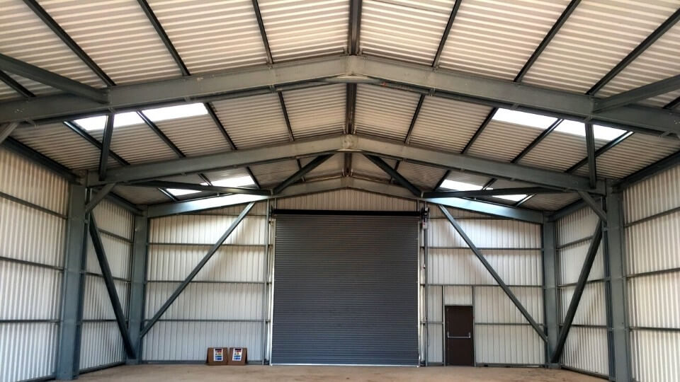 cold rolled steel building