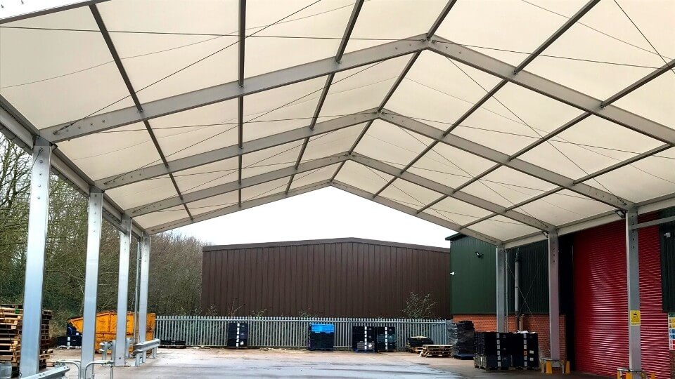 industrial loading canopy